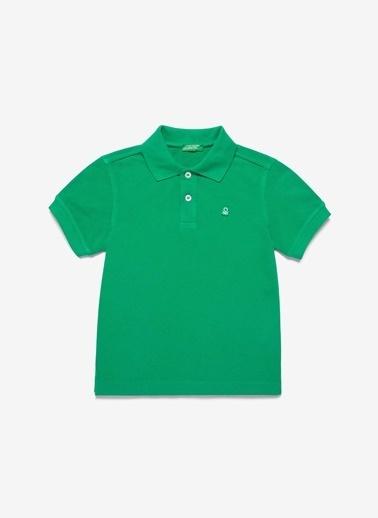 Benetton Benetton Yeşil T-Shirt Yeşil